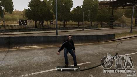 Skate # 4 para GTA 4 vista de volta