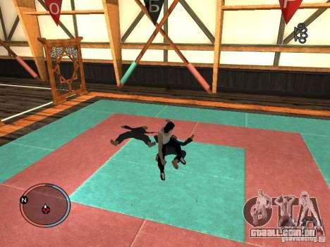 Pele de Bruce Lee para GTA San Andreas sexta tela
