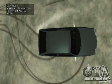 ZAZ Tavria 1102 para GTA 4 vista de volta