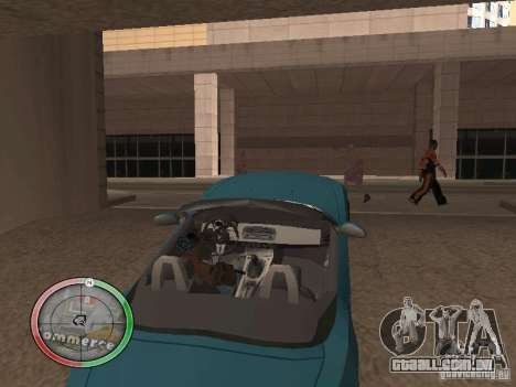 Car shop para GTA San Andreas quinto tela