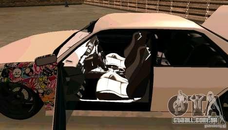 New Sultan v1.5 para vista lateral GTA San Andreas