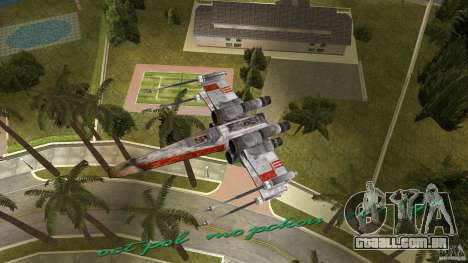 X-Wing Skimmer para GTA Vice City vista lateral
