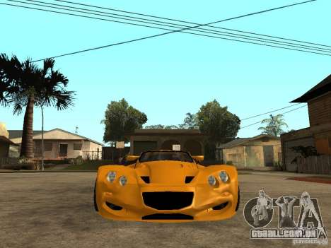 Gillet Vertigo para GTA San Andreas vista direita
