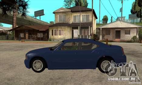 Dodge Charger RT para GTA San Andreas esquerda vista