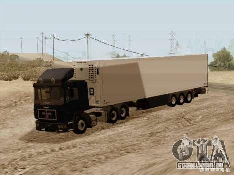 Schmitz Trailer para GTA San Andreas vista traseira