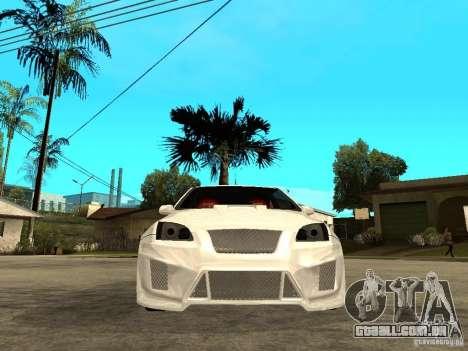 Ford Focus Tuned para GTA San Andreas vista direita