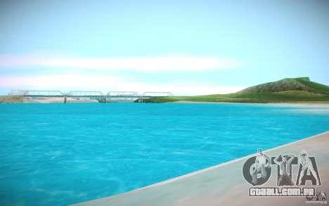 Água de HD para GTA San Andreas terceira tela