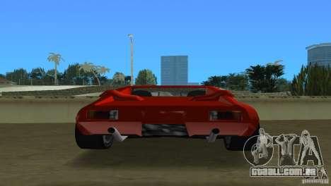 De Tomaso Pantera para GTA Vice City vista direita