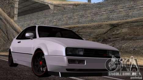 Volkswagen Corrado VR6 para GTA San Andreas traseira esquerda vista