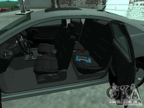 Saturn Ion Quad Coupe 2004 para vista lateral GTA San Andreas