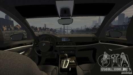 BMW 535i M-Sports para GTA 4 vista direita