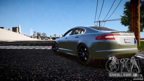 Jaguar XFR 2010 para GTA 4 esquerda vista