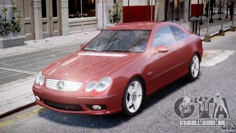 Mercedes-Benz CLK 63 AMG 2005 para GTA 4 esquerda vista