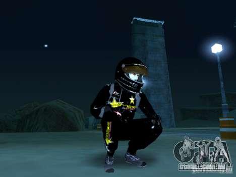 Rockstar PED para GTA San Andreas segunda tela