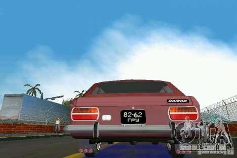 Kombi IZH-2125 para GTA Vice City vista traseira