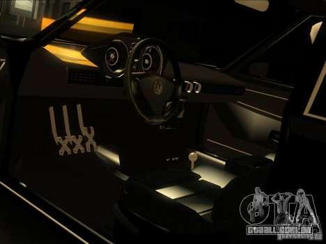 Volkswagen Passat 1.9A para GTA San Andreas vista superior