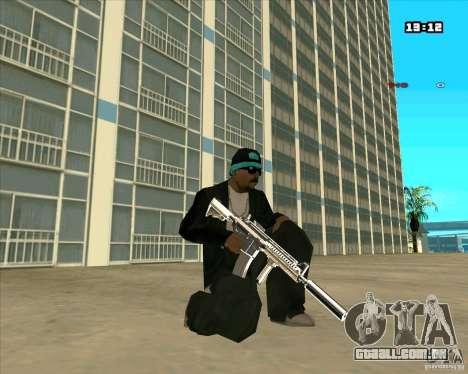 Chrome Weapon Pack para GTA San Andreas quinto tela