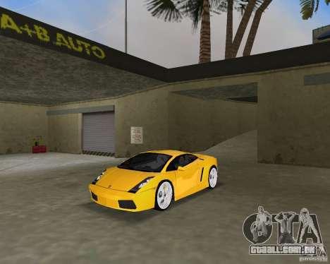 Lamborghini Gallardo v.2 para GTA Vice City