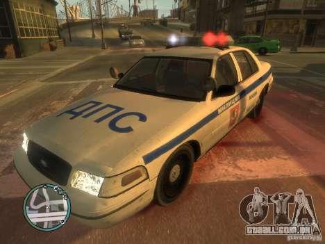 Ford Crown Victoria polícia para GTA 4