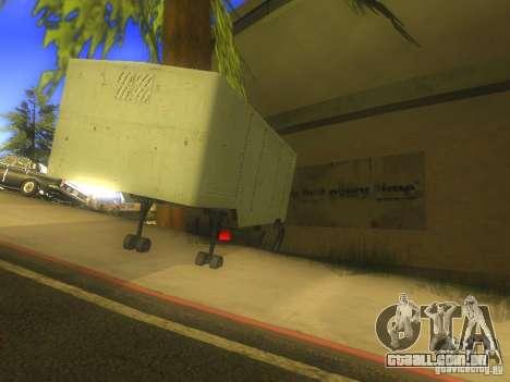 Reboque Odaz 794 para GTA San Andreas traseira esquerda vista