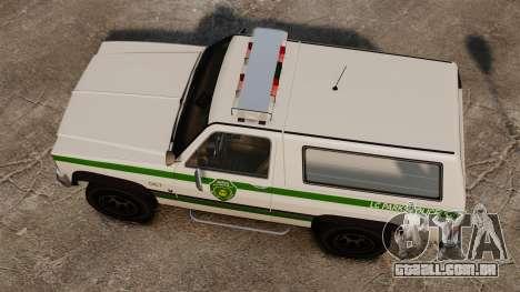 Polícia rancheiro ELS para GTA 4 vista direita