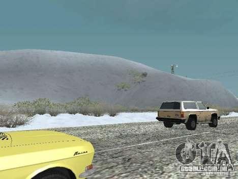 Frozen bone country para GTA San Andreas segunda tela