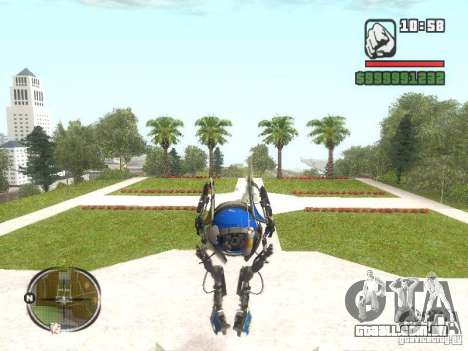 Robô de Portal 2 # 3 para GTA San Andreas segunda tela