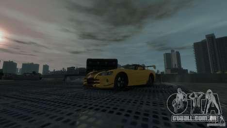 Dodge Viper SRT-10 ACR 2009 para GTA 4 vista de volta