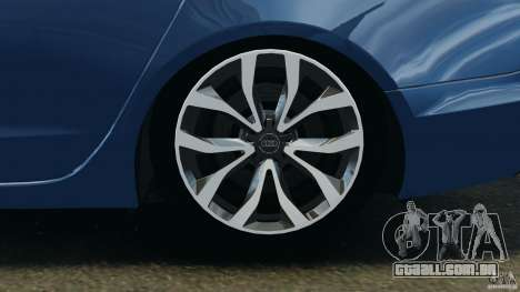 Audi A6 para GTA 4 vista lateral