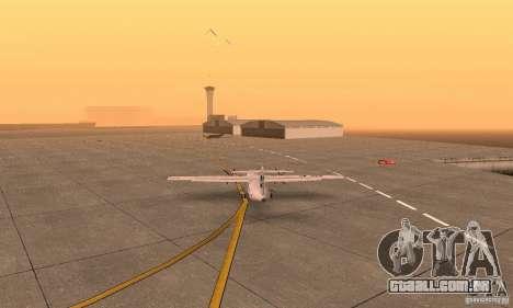 ATR 72-500 UTair para GTA San Andreas esquerda vista