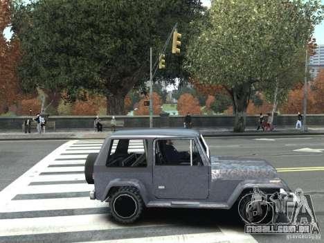 Mesa em GTA San Andreas para GTA IV para GTA 4 traseira esquerda vista