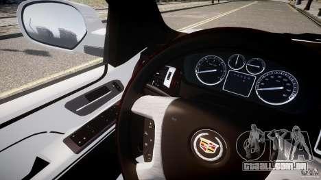 Cadillac Escalade ESV para GTA 4 vista interior