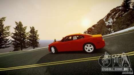 Dodge Charger R/T 2011 Max para GTA 4 traseira esquerda vista