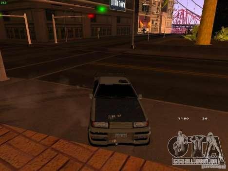 New Racing Style Fortune para GTA San Andreas vista direita