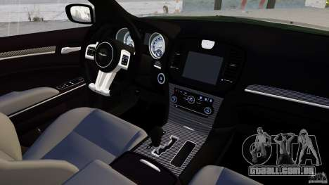 Chrysler 300 SRT8 2012 para GTA 4 vista lateral