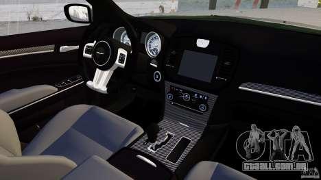 Chrysler 300 SRT8 2012 para GTA 4 vista lateral