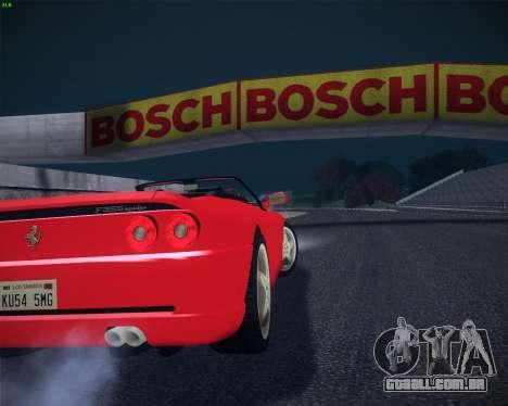 Ferrari F355 Spyder para GTA San Andreas esquerda vista