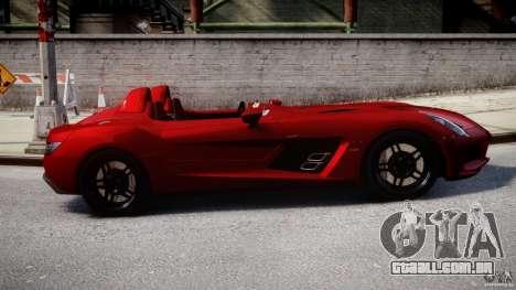 Mercedes-Benz SLR McLaren Stirling Moss [EPM] para GTA 4 vista interior