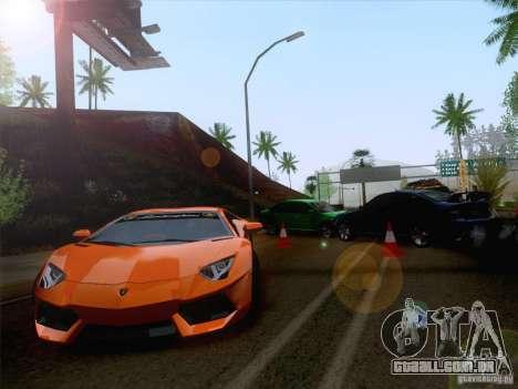 Acidente na estrada para GTA San Andreas segunda tela