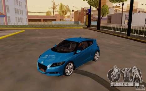 Honda CR-Z 2010 V3.0 para GTA San Andreas