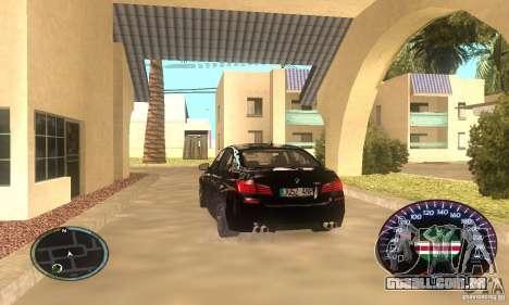 Chechen Speedometr para GTA San Andreas segunda tela