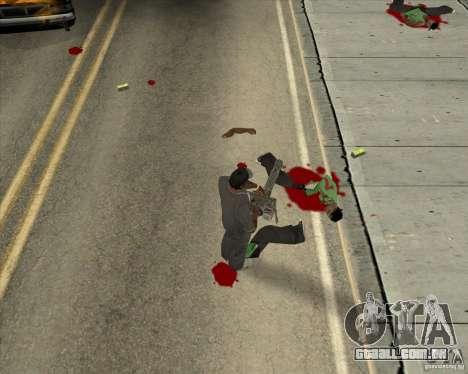 Real Ragdoll Mod Update 02.11.11 para GTA San Andreas