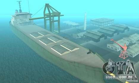 New Island para GTA San Andreas segunda tela