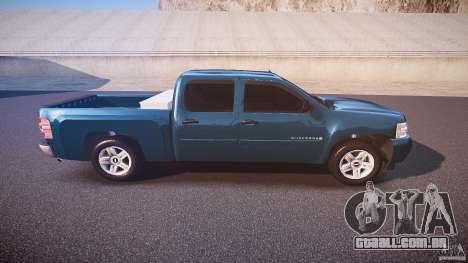 Chevrolet Silverado 1500 v1.3 2008 para GTA 4 vista lateral