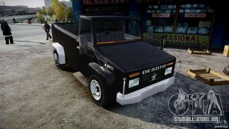 Desoto Ad250 4x4 para GTA 4 vista direita