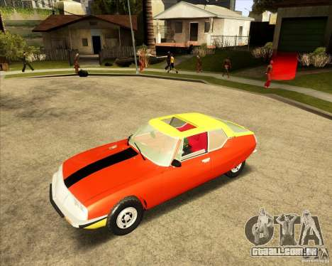 Citroen SM 1971 para GTA San Andreas vista interior