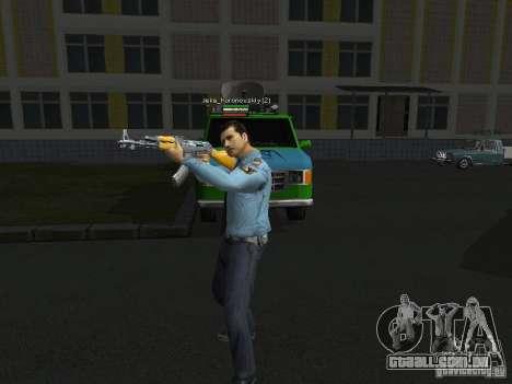 Peles de milícia para GTA San Andreas