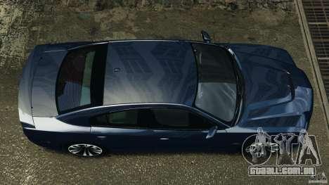 Dodge Charger SRT8 2012 v2.0 para GTA 4 vista direita