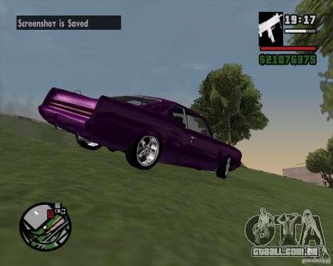 Oldsmobile 442 (Flatout 2) para GTA San Andreas vista traseira
