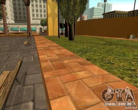 A nova Central Park de Los Santos para GTA San Andreas terceira tela